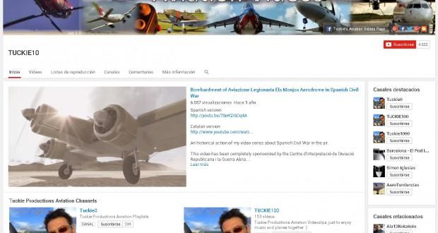 Nuevos canales de vídeos aéreos 1