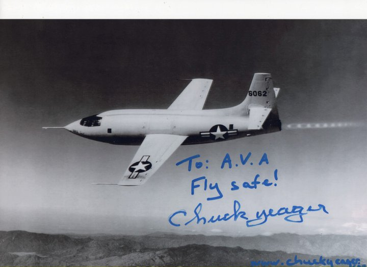 Chuck Yeager vuelve a Sort 1