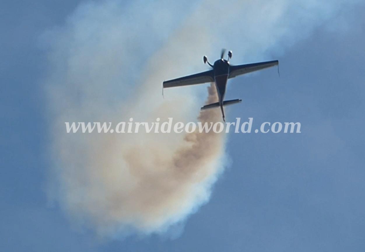Heike Sauels Aerobatic Freestyle at WAC 2015 16