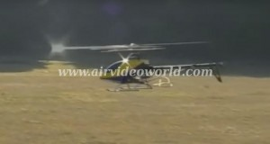 Helicoptero radiocontrol se destruye