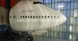 Iberia's Boeing 747 cockpit 3