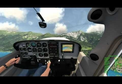 Aerofly FS simulator: first Cessna 172 SP tests 3